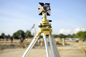 land survey yellow theodolite camera