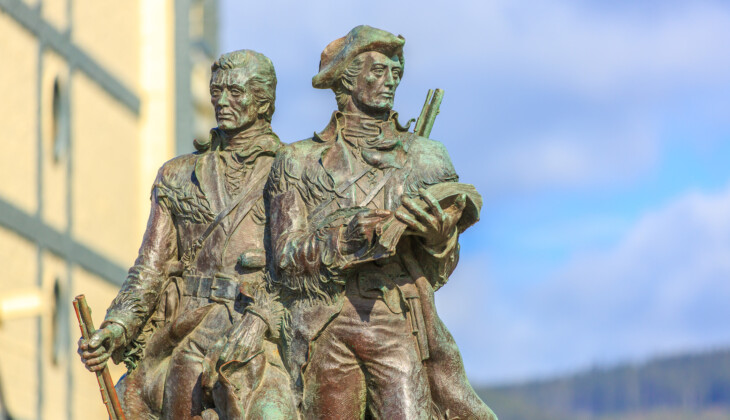America's Most Famous Land Surveyors: The Journey of Lewis and Clark(Part II)